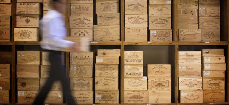 Best wines for a Yacht charter as per wine connoisseur, Andrew Azzopardi.